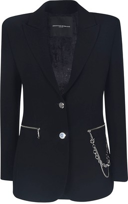 Ermanno Scervino Chain Embellished Blazer