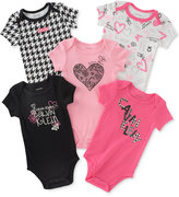Calvin Klein Baby Girls' 5-Pk. Printed Bodysuits