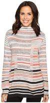 Nic+Zoe Striped Style Top