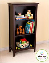 Kid Kraft Avalon Three-Shelf Bookcase - Espresso