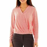 JCPenney Worthington® Crossover Top