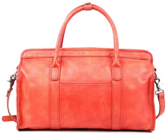 Old Trend Santa Clara Leather Satchel Bag