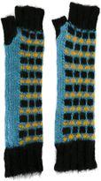 Marni fingerless knit gloves