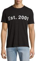 Rag & Bone Est. 2001 Short-Sleeve T-Shirt, Black