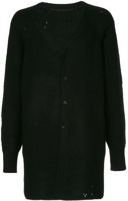 Julius Buttoned Long Cardigan A