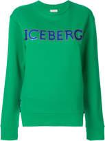 Iceberg logo print sweatshirt