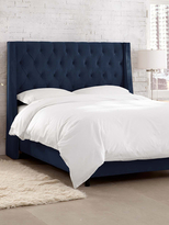 Skyline Furniture Tufted Wingback Bed