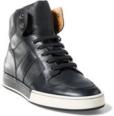 Ralph Lauren Blaise Nappa Leather Sneaker