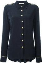 Pierre Balmain shoulder straps shirt - women - Silk - 40