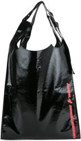 Raf Simons shopper tote - men - Cotton/Polyurethane - One Size