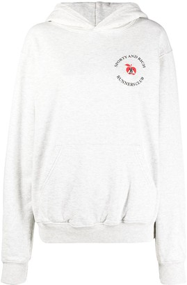 Sporty & Rich Runners Club cotton hoodie