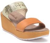 Cocobelle Simona Leather Wedge Sandal