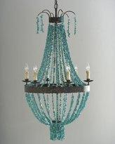 Regina-Andrew Design Regina Andrew Design Turquoise Beads 6-Light Chandelier