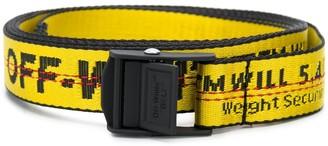 Off-White Industrial logo print belt