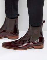 Jeffery West Scarface Leather Chelsea Boot