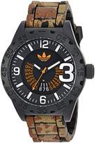 adidas Men's 'Newburgh' Quartz Rubber and Silicone Casual Watch