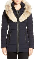 Mackage Women's Water Resistant Down Parka With Genuine Coyote Fur Trim