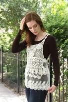Molly Bracken Lace & Crochet Camisole