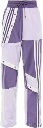 adidas Snap-detailed Fleece Track Pants