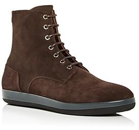 Giorgio Armani Men's Lace Up Boots