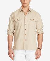 Polo Ralph Lauren Men's Big & Tall Cotton Twill Utility Shirt
