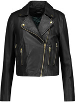 Muu Baa Muubaa Harrier leather biker jacket