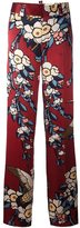 DSQUARED2 'Blossom' print trousers - women - Silk - 40