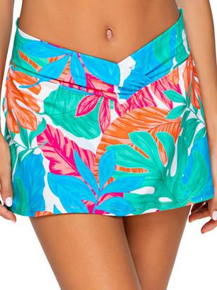 Sunsets Tropicalia Summer Lovin' Skirted Bikini Bottom