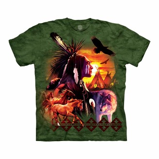 The Mountain Unisex-Adult's Indian Collage
