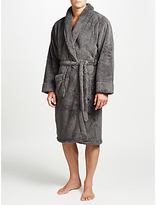John Lewis High Pile Robe, Grey