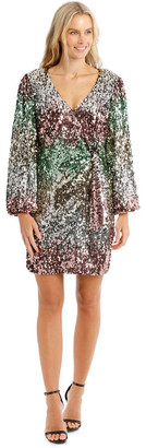 Collection Ombre Sequin Mini Dress
