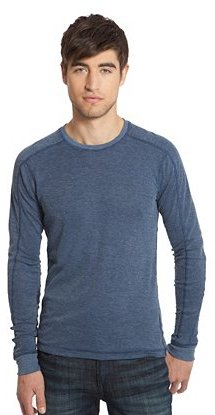 Fulton Ribbed Crewneck Shirt