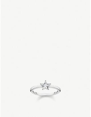 Thomas Sabo Magic Stars sterling silver and zirconia ring