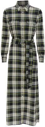 Ralph Lauren Check Print Maxi Dress