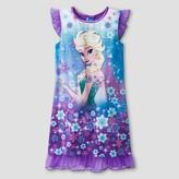 Frozen Girls' Frozen Nightgown - Purple