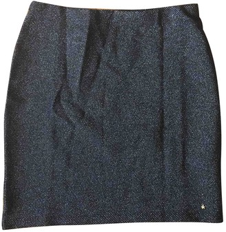 Des Petits Hauts Black Cotton Skirt for Women
