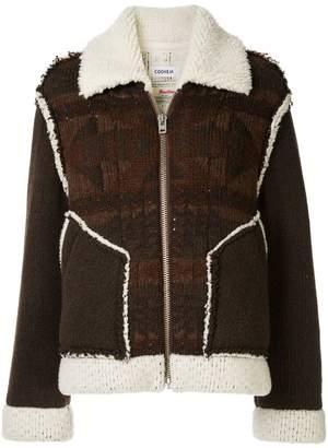 Coohem mouton native jacquard jacket