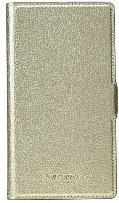 Kate Spade sylvia magnetic folio - X (Pale Gold) Cell Phone Case