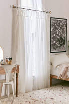 Urban Outfitters Plum & Bow Gathered Voile Curtain