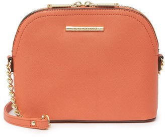 Steve Madden Bmaggie Faux Leather Dome Crossbody Bag