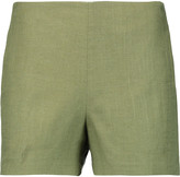 Tory Burch Amber linen-blend shorts