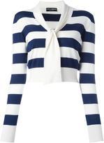 Dolce & Gabbana striped jumper - women - Silk/Cashmere - 38