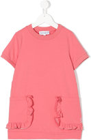 Simonetta ruffled pocket sweat dress