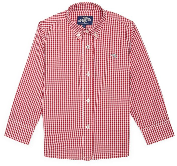 Trotters Thomas Check Shirt (2-12 Years)