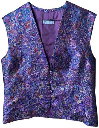 Celine Metallic Cotton Jacket for Women Vintage