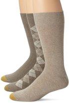 Gold Toe Men's Classic Dress Socks (Pack of Three Pairs)