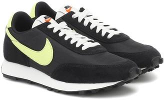 Nike Daybreak suede-trimmed sneakers