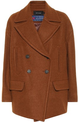 Low Classic Wool-blend coat