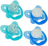 Dr Browns Dr. Brown's Glow in The Dark Pacifier - Blue - 6 - 12 Months