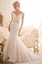Morilee Lace Mermaid Bridal Gown